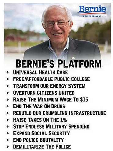 Bernie Sanders' Plans