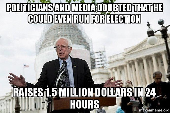 Donate To Bernie!